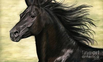 Art Print featuring the painting Cadence by Sheri Gordon