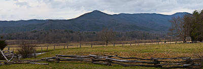 Cade's Cove - Smoky Mountain National Park Art Print by Christopher Gaston
