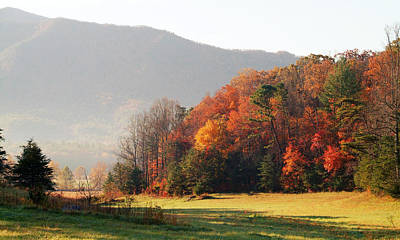 Photograph - Cades Cove Fall by Robert Clayton