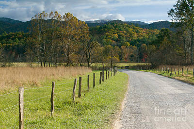 Photograph - Cades Cove Hyatt Lane by Clarence Holmes