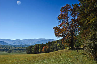 Photograph - Cades Cove Landscape by Carolyn Marshall