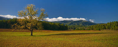 Photograph - Cades Cove Morning by Ryan Heffron