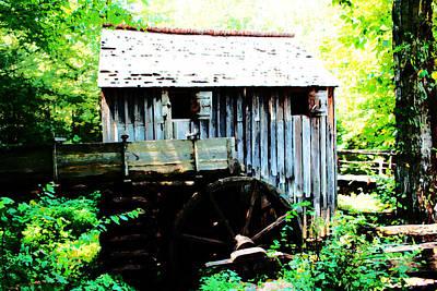 Photograph - Cade's Mill by Barry Jones