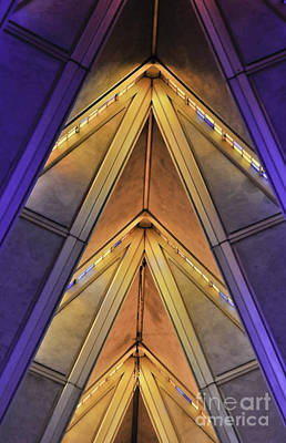 Photograph - Cadet Chapel Detail Af Academy by David Waldrop