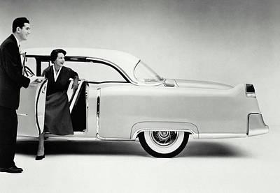 Cadillac, 1954 Art Print