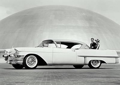 Cadillac, 1957 Art Print