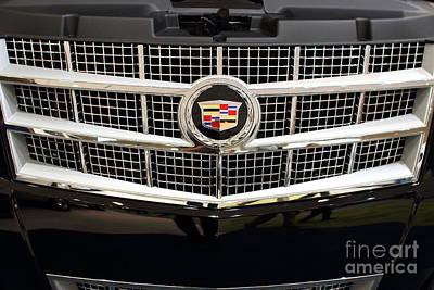 Cadillac . 7d9524 Art Print by Wingsdomain Art and Photography