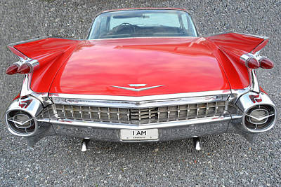 Photograph - Cadillac Coupe Deville by Kelly Reber
