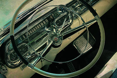 Photograph - Cadillac Dashboard by Joel Witmeyer