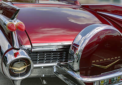 Photograph - Cadillac El Dorado 1958 Boot And Spare Wheel. Miami by Juan Carlos Ferro Duque