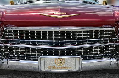 Photograph - Cadillac El Dorado 1958 Front View. Miami by Juan Carlos Ferro Duque
