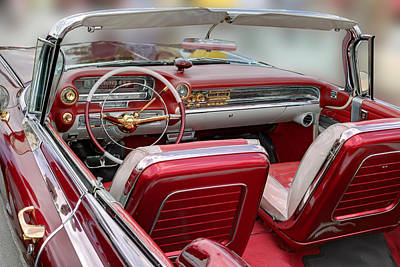 Photograph - Cadillac El Dorado 1958 Rear View. Miami by Juan Carlos Ferro Duque