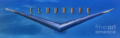 Photograph - Cadillac Eldorado Emblem  by Lee Dos Santos