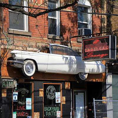 Photograph - Cadillac Lounge by Andrew Fare