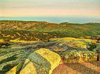 Cadillac Mountain Art Print by Frank SantAgata