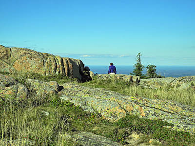 Photograph - Cadillac Mountain Majesty by Lynda Lehmann