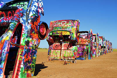 Photograph - Cadillac Ranch 2  by Lana Trussell