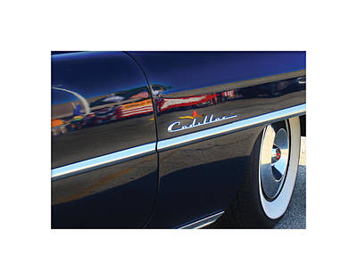 Digital Art - Cadillac Reflection by Geoff Strehlow