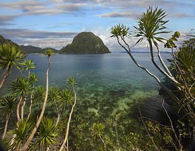 Cadlao Island Near El Nido Palawan Art Print