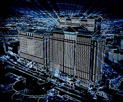 Photograph - Caesars Palace by Steven Richardson