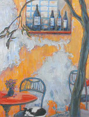 Cafe After Hours Art Print