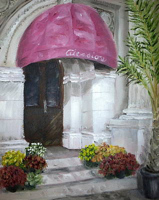 Painting - Cafe Alessio by Margie Perry