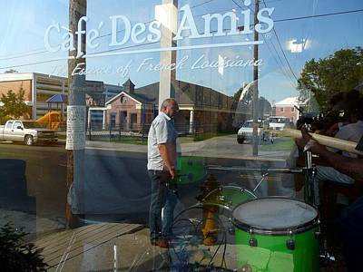 Photograph - Cafe Des Amis by Rdr Creative