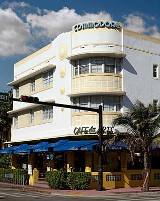 Photograph - Cafe Des Arts. Miami. Fl. Usa by Juan Carlos Ferro Duque