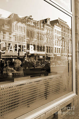 Photograph - cafe in Amsterdam by Igor Kislev