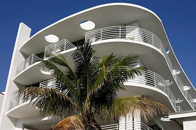 Photograph - Cafe Med. Miami. Fl. Usa by Juan Carlos Ferro Duque