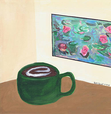 Painting - Cafe Monet by Beth  Cornell