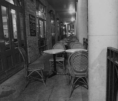 Photograph - Cafe Rouge by Anna Villarreal Garbis