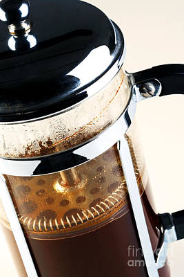 Plunger Photograph - Cafetiere  by Richard Thomas