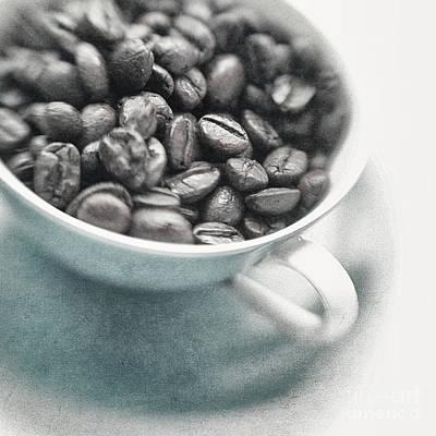 Caffeine Art Print by Priska Wettstein