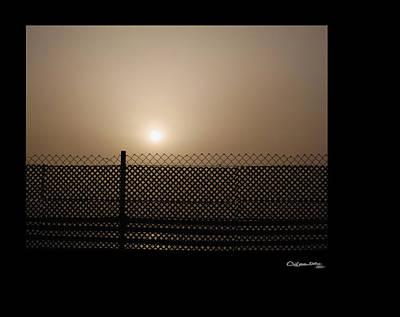 Xoanxo Photograph - Caged Sunset by Xoanxo Cespon