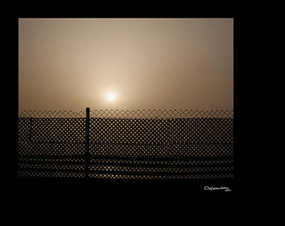 Photograph - Caged Sunset by Xoanxo Cespon