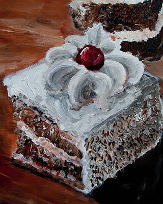 Painting - Cake 09 by Nik Helbig