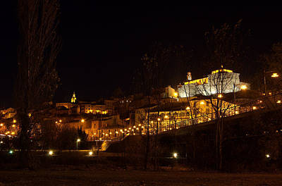 Photograph - Calahorra At Night by RicardMN Photography