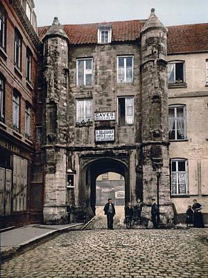 Calais - France - Hotel Des Guises Art Print