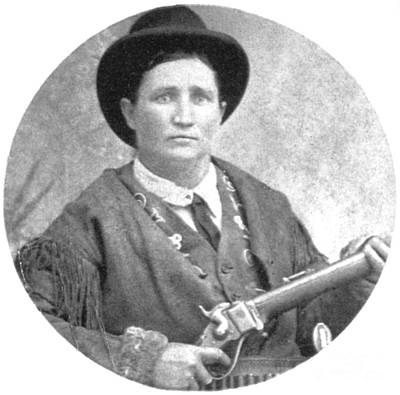 Calamity Jane, American Frontierswoman Art Print