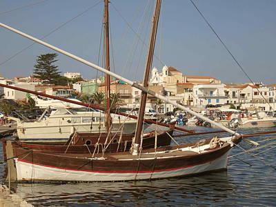 Photograph - Calasetta Sardinia 03 by Len Yurovsky