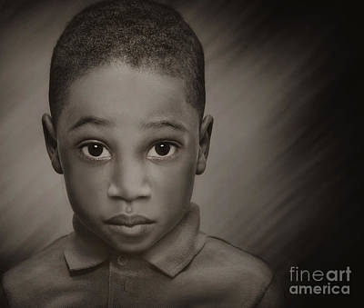 Photograph - Caleb by Pat Abbott
