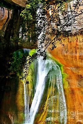 Photograph - Calf Creek Falls I by Ellen Heaverlo