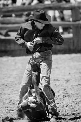 Photograph - Calf Roper by Michelle Wrighton