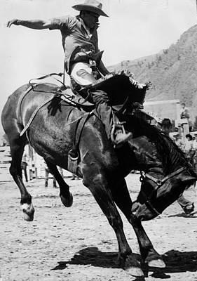 Working Cowboy Photograph - Calgary Cowboy by John Drysdale