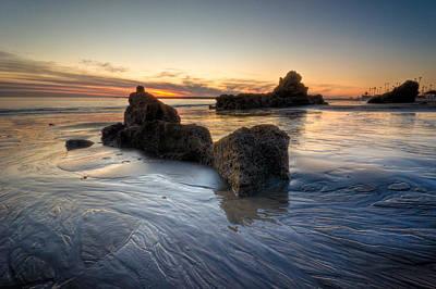 Cali Sunset Art Print by Brian Leon