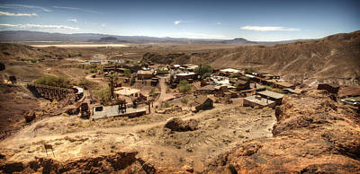Calico Ghost Town 4 Art Print by Jessica Velasco