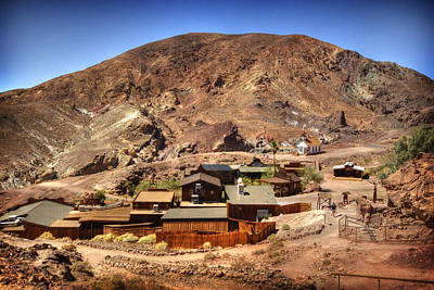 Calico Ghost Town 5 Art Print by Jessica Velasco