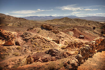 Calico Ghost Town 7 Art Print by Jessica Velasco