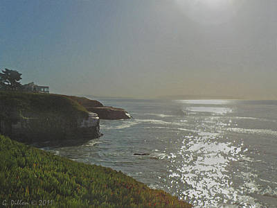 Photograph - California Coast  by Grace Dillon